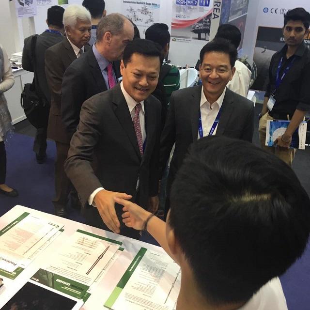 Vip Tour by Datuk Mohd Anuar Taib, Executive Vice President & CEO Upstream of Petronas